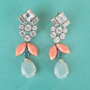 J. Crew Art Deco Earrings
